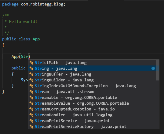 First look at Java support in Visual Studio Code | Robin Tegg